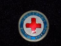 денацифицированный знак Немецкий Красный Крест (DRK - Deutsches Rotes Kreuz)  (копия)