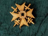 Испанский крест с мечами и бриллиантами (копия)