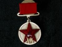медаль XX лет РККА (на прямоугольной колодке) (копия)