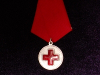 медаль Красного Креста в память Русско-Японской войны 1904-1905 гг. (копия)