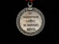 медаль За беспорочную службу в тюремной страже 1896 г. (копия)