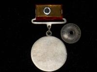 медаль За боевые заслуги на прямоугольной колодке (копия)