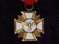 медаль За выслугу лет в НСДАП (25 лет) (копия)
