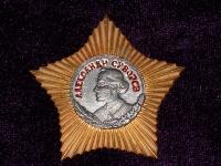 орден Суворова II степени винт (копия)