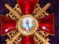 орден Святой Анны II степени с мечами (на шею) (копия)