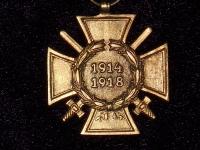 Почетный ветеранский крест 1914-1918 с мечами (копия)