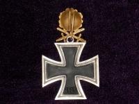 Рыцарский крест с дубовыми листьями, мечами и бриллиантами (копия)