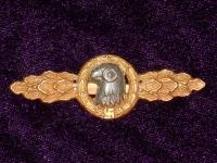 Шпанга «Разведчик» в золоте (копия)