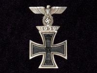 Железный крест I ст. 1-я Мировая и шпанга ЖК I ст. 2-я Мировая (копия)