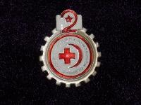 знак «Готов к санитарной обороне 2-й ступени». 1935-1941гг. (копия)