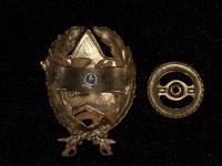 знак Командир-кавалерист (вариант 1) (копия)