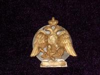 знак Лейб-гвардии Саперного батальона, 1912 г. (копия)