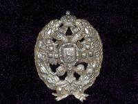 знак об окончании Николаевской Академии Генерального Штаба (малый) (копия)