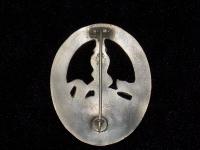 знак За борьбу с партизанами в серебре (копия)