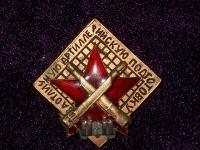 знак «За отличную артиллерийскую подготовку» (вариант 2) (копия)