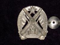 знак За отличную подготовку для командного состава артиллерийских частей 1925 – 28 гг. (копия)