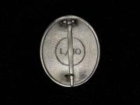 знак За ранение в серебре (копия)