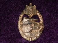 знак За танковый бой в бронзе (копия)