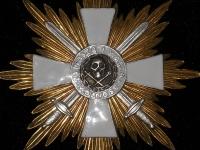 Звезда к Кресту Храбрых Булак-Балаховича (с мечами) (копия)