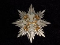 Звезда ордена Германского орла с мечами (копия)