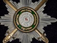 Звезда ордена Святого Станислава с мечами (копия)