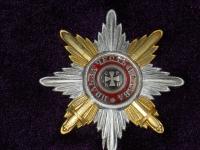 Звезда ордена Святого Владимира с мечами (копия)