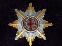 Звезда ордена Святой Анны с мечами (копия)